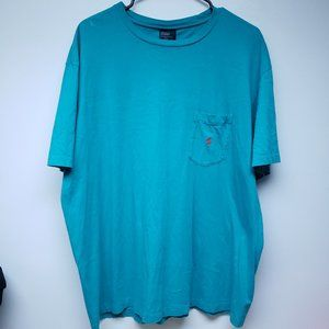 Vintage 80s Turquoise Polo by Ralph LaurenT-Shirt